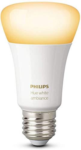 Philips 8718696548738 EEK A+ Hue White Ambiance Einzelne Lampe. 9,5 W, E27, 2.200 K bis 6.500 K