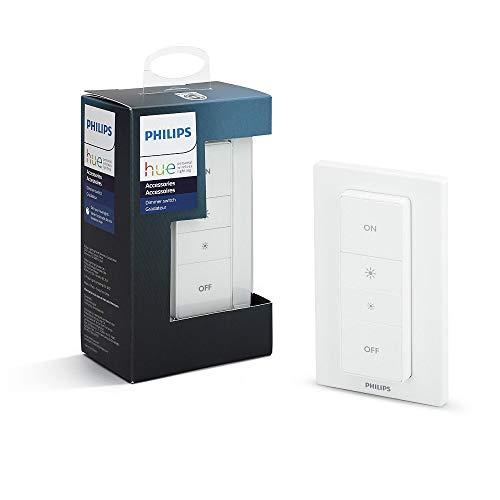 philips hue wireless dimming schalter komfortabel dimmen ohne installation 8718696506967. Black Bedroom Furniture Sets. Home Design Ideas