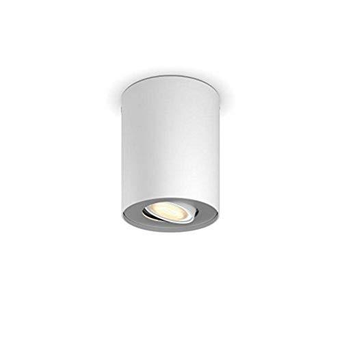 Philips Hue LED Spot Pillar Erweiterung, alle Weißschattierungen, steuerbar via App, weiß, 5633031P8