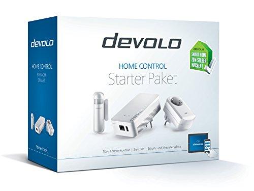 devolo Home Control Starter Paket (Z-Wave Hausautomation, Haussteuerung per iOS/Android App, einfache Installation, Smart Home Starter Set: Zentrale, Schaltsteckdose, Türkontakt, Fensterkontakt) - 3