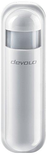 devolo Home Control Bewegungsmelder (Smart Home Infrarot Sensor, Helligkeits- & Temperatursensor, Z-Wave Hausautomation, Haussteuerung per iOS/Android App) weiß
