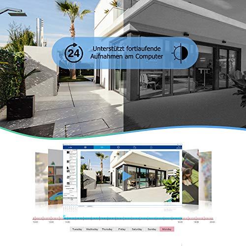 wansview 1080p ip kamera aussen sicherheitskamera. Black Bedroom Furniture Sets. Home Design Ideas