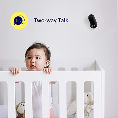 Canary Flex Sicherheitskamera für den Außen- und Innenbereich – Schwarz - 4