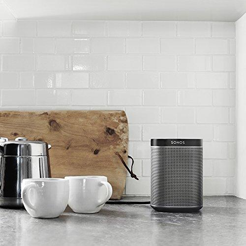 Sonos PLAY:1 I Kompakter Multiroom Smart Speaker für Wireless Music Streaming (schwarz) - 9