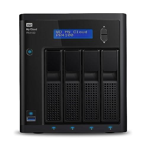 WD My Cloud PR4100 32 TB - Network Attached Storage - 2 Bay NAS Pro-Serie - integrierte Videotranskodierung, Videostreaming